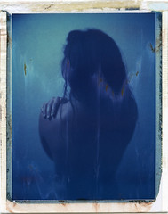 'Roidweek spring 2018 (denzzz) Tags: portrait polaroid roidweek analogphotography filmphotography instantfilm polaroid669 expired wista45dx blue