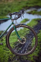 A01_5278 (pilisiecki) Tags: steel gravel bilaminating columbus custom madeinpoland bicycle frontrack rack stainless nierdzewny shimano nitto regal retroshift gevanelle dtswiss