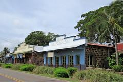 M. Yoshida Buildings (Larry Myhre) Tags: haleiwa historic buildings oahu hawaii myoshida stone lavarock