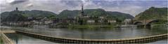Cochem (Luc V. de Zeeuw) Tags: castle church cloudy cochem mosel mountain river trees water rheinlandpfalz germany