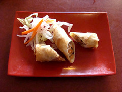 Spring Roll (knightbefore_99) Tags: vietnamese tea house hastings vancouver eastvan asian tasty lunch food spring roll awesome pork fried deep delicious