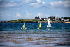 Sailing in Elie [1409] (my.travels) Tags: elie scotland bay sailing boat unitedkingdom greatbritain travel sea gb