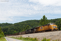 High Coal (nrvtrains) Tags: inglesiderd christiansburgdistrict hardy coal unionpacific load norfolksouthern 768 princeton westvirginia unitedstates us