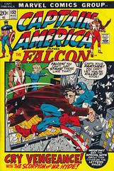 Captain America #152 (micky the pixel) Tags: comics comic heft superhero marvel salbuscema vincecolletta captainamerica steverogers thefalcon agent13 sharoncarter mrhyde drcalvinzabo
