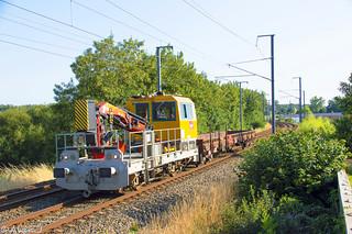 Draisine DU 84 RS 9-711 - Train 509882 Quimper>Lorient
