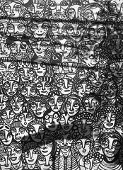Bus stop on Teodoro Sampaio Street, São Paulo, Brazil. (eROV65) Tags: guilhermekramer gkramer bus ônibus pontodeônibus ruateodorosampaio1633 paradadeônibus busstop parede wall grafite graffiti grafiti graffito arteurbana cidade city sanpablo statecity capital turismo turism rua street state metrópole essepê bigcity saintpaul capitaldoestadodesãopaulo tour andança art blackandwhite pretoebranco bw