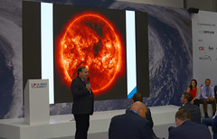Europe's new mission: Monitoring the Sun from a new viewpoint (europeanspaceagency) Tags: esa europeanspaceagency space universe cosmos spacescience science spacetechnology tech technology fia18 fia2018 farnboroughinternationalairshow ukspaceagency spacezone farnborough farnboroughairshow mikewillis lagrangel5mission