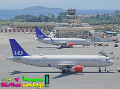 "OY-KAS SAS Airbus A320 • <a style=""font-size:0.8em;"" href=""http://www.flickr.com/photos/146444282@N02/28741386557/"" target=""_blank"">View on Flickr</a>"
