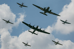 RAF BBMF large formation (JaffaPix +5 million views-thanks...) Tags: lf363 pz865 mk356 te311 ps915 pa474 za947 dc3 dakota warbird hurricane lancaster spitfire raf bbmf airshow jaffapix riat2018 egva royalinternationalairtattoo raffairford aircraft aeroplane ffd aviation davejefferys military jaffapixcom riat airplane formationflying