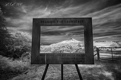 """Framing The Landscape (""""A.S.A."""") Tags: roseberrytopping newtonwoods northyorkshire landscape infrared830nm cloud farmland sonya7rinfrared830nm sonyzeissvariotessarfe1635mmf4 blackwhite mono monochrome greyscale niksoftware silverefex asa2018"""
