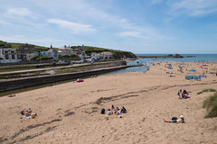 Seaside beside the river beside the canal K1__6440.jpg (screwdriver222) Tags: hdpentaxdfa2470mmf28edsdmwr canal beach pentax seaside riverneet k1 bude sand sea cornwall breakwater summerleazebeach england unitedkingdom gb