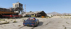 GTA5 2018-06-29 20-41-09 (Brutal Modern Modder) Tags: grand theft auto v gta gtav graphics photograph photography enb reshade photorealistic 4k resolution graphic nvidia visuals 5 rockstar games north los angeles santos san andreas outdoor visual color patch realistic ultrawide ultra wide car vehicle colors countryside airport road plane sky ξnb ξ atmospheric correction fix lighting light