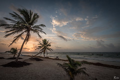 Mexican sunrise (Ruù) Tags: sun sunrise landscape beach cloud beautifulworld mexico relax wakeup earlymorning life light travel nature travelalone bestplace
