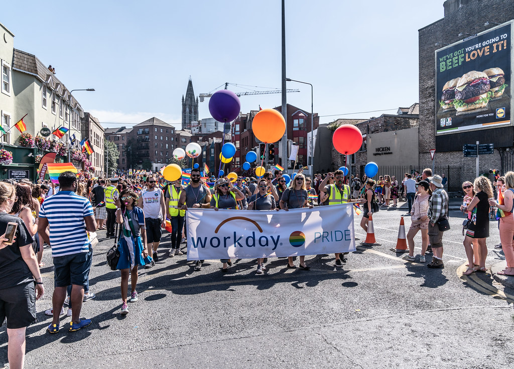 ABOUT SIXTY THOUSAND TOOK PART IN THE DUBLIN LGBTI+ PARADE TODAY[ SATURDAY 30 JUNE 2018] X-100034