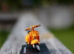 Ready for a Ride? (Haytham M.) Tags: memories childhood street road leisure vespa motorcycle ride bike