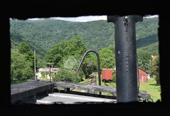 """Tracks Ahead"" (Tristan_Miller) Tags: durbin greenbrier valley rocket train co caboose west virginia river"