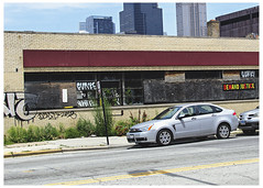 Demand Justice (swanksalot) Tags: south loop southloop chicago graffiti streetart demand justice tweeted