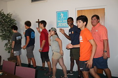 BOSH Volunteers Choreogrraphed