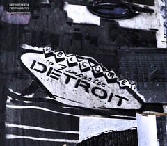 Welcome To Detroit (DetroitDerek Photography ( ALL RIGHTS RESERVED )) Tags: allrightsreserved 313 detroit motown michigan downtown urban sticker ad advertisement welcome midwest usa america archive 2013 demolished detroitderek july 2018 motorcity fantastic notblackandwhite hdr 3exp canon 5d mkii digital eos