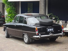 1970 Rover 3500 S (harry_nl) Tags: netherlands nederland 2018 muiden rover 3500 s ah9057 sidecode1 import usspecification