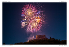 Château de Murol (BerColly) Tags: france auvergne puydedome murol sancy feuartifice fireworks nuit night 14juillet bercolly google flickr