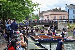 Cambridge | 06 (elena_n) Tags: summer england river boats bridge cam