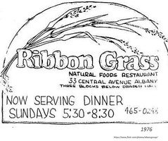 Ribbon Grass Natural food restaurant 33 central ave  1976 (albany group archive) Tags: 1970s old albany ny vintage photos picture photo photograph history historic historical