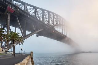 Fog Bound Bridge