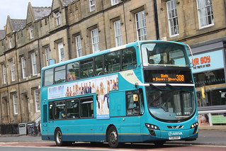 ARRIVA north east 7628 YJ61 OAY