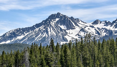Majestic mountain (maytag97) Tags: maytag97 nikon d750 tamron 150600 150 600 range cloud oregon landscape outdoor nature natural terrain rugged forest sawtooth mountains idaho snow grass mountain sky field tree summer lake wood mountainside pine