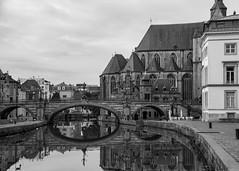St Michael's Bridge (BW) - Gent, Belgium