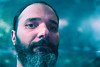 What's all this cyan/magenta thing? (theoswald) Tags: self shadows selfportrait autoretrato d3300 magenta blue people eyes portrait moody darkness 35mm beard light