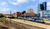 Leicester London Road (Peter Leigh50) Tags: leicester station platform train railway cityscape town building townscape sky fujifilm fuji xt10