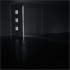 Open doors can make you curious (Luc B - PhLB) Tags: dark black light low key darkness curious curiosity minimal