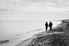 Silhouette of a couple holding hands (basair) Tags: beach holdinghands sea sand silhouette walking youngcouple landscape tourist adult beauty monochrome enjoyment healthylifestyle horizontal idyllic married outdoors tranquilscene spain talking coastline watersedge vacations dating copyspace mediterraneansea loveemotion valenciaspain couplerelationship