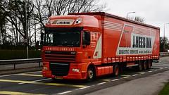 BG-TF-09 (Martin's Online Photography) Tags: daf xf truck wagon lorry vehicle freight haulage c transport a580 leigh lancashire commercial nikon nikond7200 dutch international