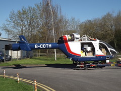 G-COTH Explore MD902 Helicopter Specialist Aviation Services Ltd (Aircaft @ Gloucestershire Airport By James) Tags: gloucestershire airport gcoth explore md902 helicopter specialist aviation services ltd egbj james lloyds