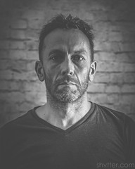 Self (#Weybridge Photographer) Tags: man self selfie studio portrait adobe lightroom canon eos dslr slr 5d mk ii monochrome mkii