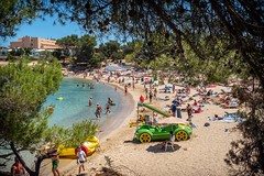 Torrent beach, Ibiza. (CWhatPhotos) Tags: cwhatphotos photographs photograph pics pictures pic picture image images foto fotos photography artistic that have which contain olympus camera holiday holidays hols hol june 2018 ibizan ibiza san antonio bay june2018 torrent beach seaside coast sand water port