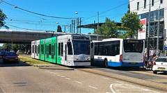 Zomerdagen (Peter ( phonepics only) Eijkman) Tags: amsterdam city combino gvb tram trams transport tramtracks trolley rail rails streetcars strassenbahn nederland netherlands nederlandse noordholland holland