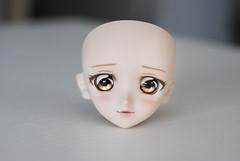 I'm in love with my new girl ❤❤❤ (Kyane) Tags: bjd doll dolls dollfiedream dollfie volks volksdoll head faceup makeup repaint custom vinyl resin ddh03
