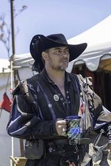 Pirate's life (shottwokill) Tags: pirateinvasion longbeach california day pirate nikon d5 faire nikkor costume