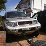 neglected 1998 JDM Mitsubishi Pajero Evolution 3.5Litre V6 Twin Turbo thumbnail