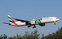 Emirates | B777-300 | A6-ENB | HAM | 04.07.2018 (Norbert.Schmidt) Tags: b777300 dubai uae hamburgairport a6enb b777 boeing expo2020 emirates