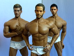 Hanes Underwear Shoot (Jackel24) Tags: phicen 16scale hottoys barbie ken doll hanes underwear chrisredfield