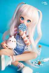 I want candy ~ ๑ (Orchid Dolls) Tags: mini dollfie dream nebula candy molang volks kawaii