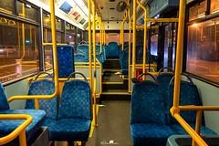 Arriva London, Route 410, PDL129 LJ56 ARZ Bus Interior, 14th February 2017 (LFaurePhotos) Tags: arrivalondon londonbynight pdl129 crystalpalace interior lfaurephotos londonbus route410 southeastlondon lj56arz