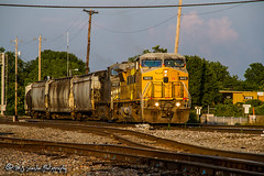 GECX 9415 | GE C41-8W | BNSF Thayer South Subdivision (M.J. Scanlon) Tags: ac44cw bnsfthayersouthsubdivision broadway business c418w canon capture cargo coal commerce digital downtown eos empty engine freight ge gecx9415 haul hopper horsepower image impression kcsm4517 kansascitysoutherndemexico landscape locomotive logistics mjscanlon mjscanlonphotography mcnnl memphis merchandise millercoal mojo move mover moving outdoor outdoors perspective photo photograph photographer photography picture rail railfan railfanning railroad railroader railway scanlon steelwheels super tfm2617 tennessee track train trains transport transportation up9415 upmcnnl unionpacific view wow ©mjscanlon ©mjscanlonphotography