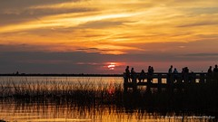 #HumpDay #sunset from the Space Coast, seen over Lake Washington in Melbourne, Florida. (Michael Seeley) Tags: melbourne michaelseeley mikeseeley landscape canon lakewashington florida humpday sunset