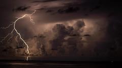 Carrabelle beach (dhundro37) Tags: lightning god jesus nature omohundro florida sony